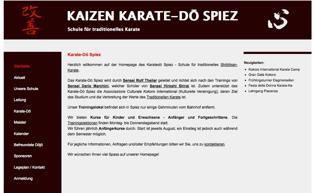 Karate-Do Spiez